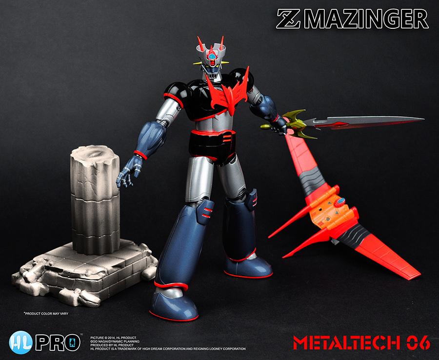 MAZINGER Z: METALTECH 06 ( VRT:1/4 ) Robot EVOLUTION TOYS