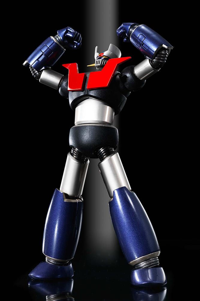 SRC MAZINGER Z: KUROGANE FINISH Robot BANDAI
