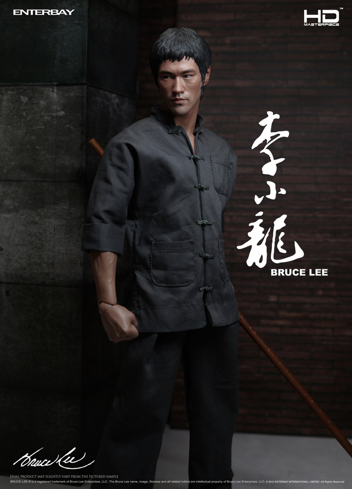 "BRUCE LEE: BRUCE LEE HD MASTERPIECE 1/4 Action Figure 18"" ENTERBAY"