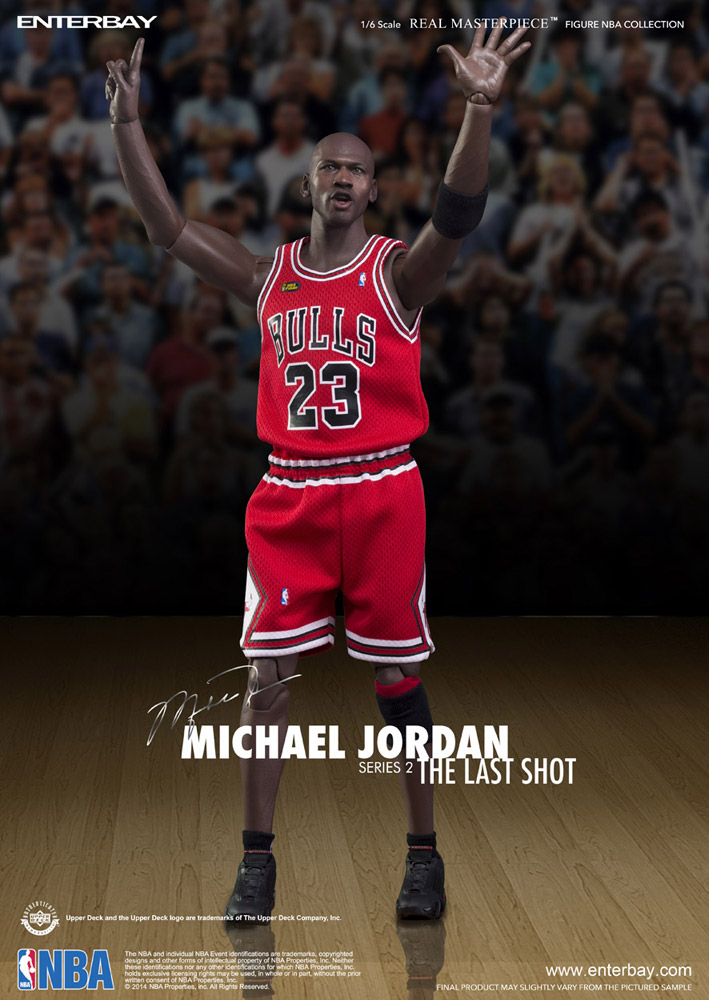 info pour 300e4 516be NBA COLLECTION: MICHAEL JORDAN Serie 2 ( ROAD JERSEY EDITION ) REAL  MASTERPIECE 1/6 Action Figure 12″ ENTERBAY