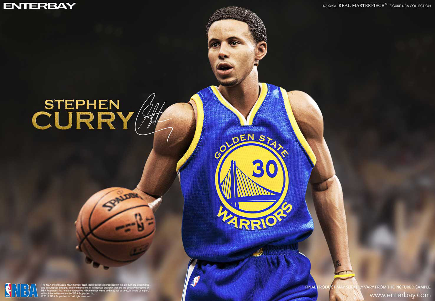 0c1ae73ea3de NBA COLLECTION  STEPHEN CURRY REAL MASTERPIECE 1 6 Action Figure 12 ...
