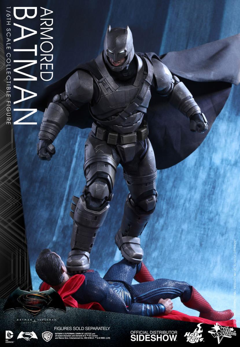 "BATMAN vs SUPERMAN: ARMORED BATMAN 1/6 Action Figure 12"" HOT TOYS"