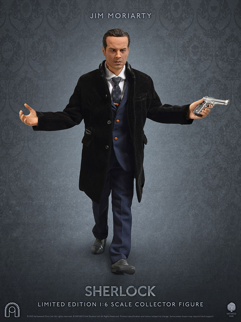 SHERLOCK HOLMES: JIM MORIARTY 1/6 Action Figure 12″ BIG ...