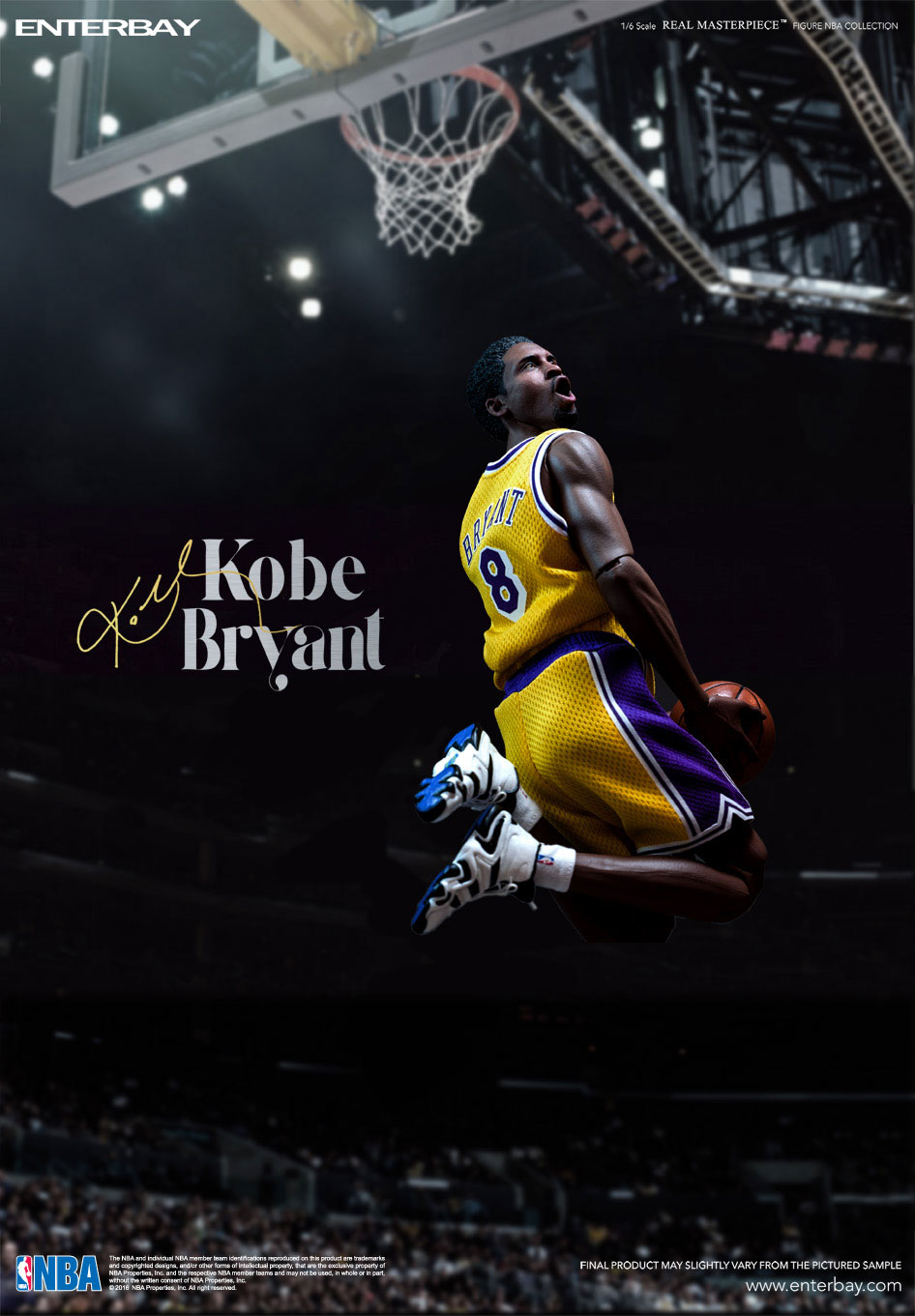 BRYANT COLLECTION:  LIMITED NBA KOBE REAL EDITION