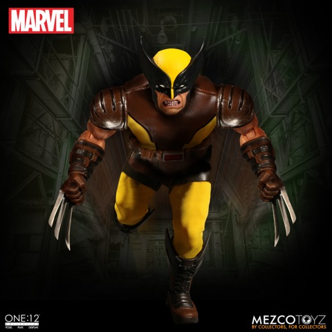 dc402c25b92 the ONE 12 COLLECTIVE: MARVEL – WOLVERINE 1/12 Action Figure MEZCO TOYS