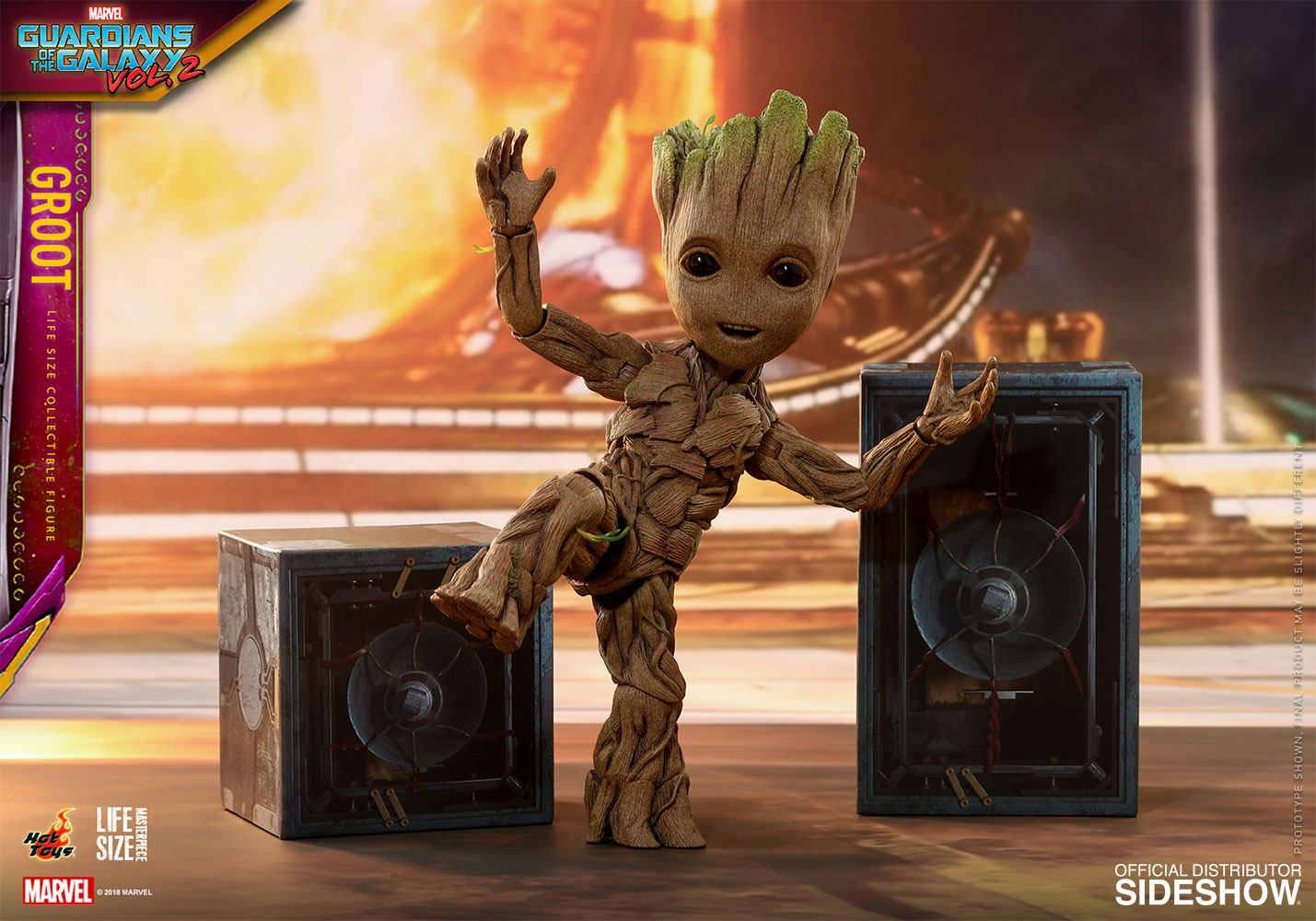 Guardians Of The Galaxy 2 Groot Life Sized Version 2