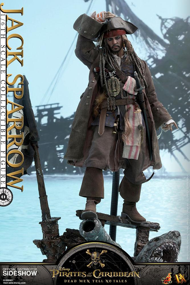 Pirates of the Caribbean Jack Sparrow 15 cm//6 /'/' Box Figure Doll Toys