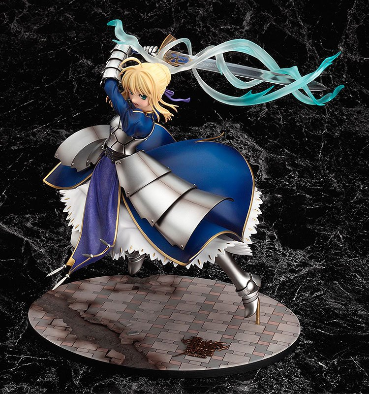 Fate Stay Night Saber Triumphant Excalibur 1 7 Statue