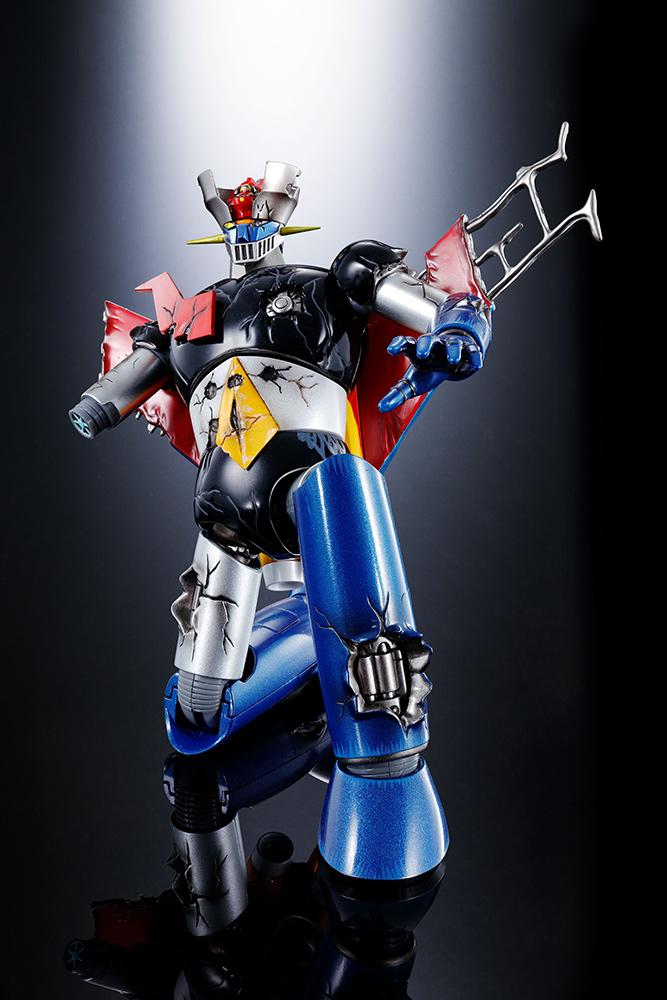 MAZINGER Z: GX-70 D MAZINGER Z DAMAGED VERSION Soul of Chogokin Robot BANDAI