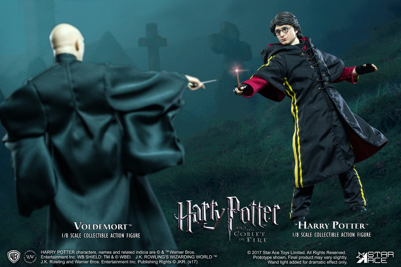harry potter  the deadly hallows  u2013 lord voldemort 1  8 action figure star ace toys
