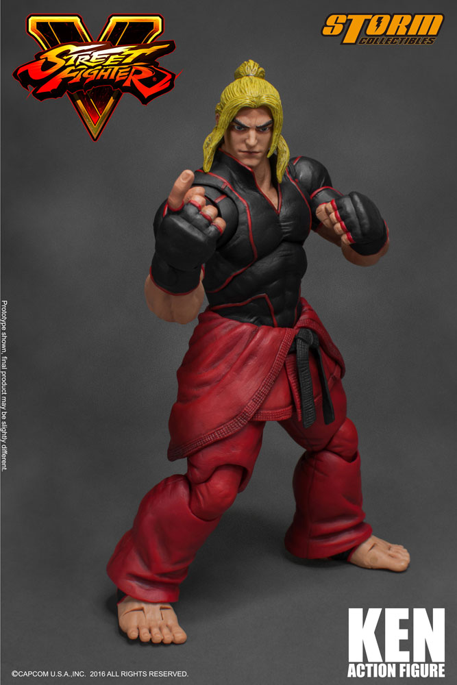 Street Fighter V Ken 1 12 Action Figure Storm Collectibles