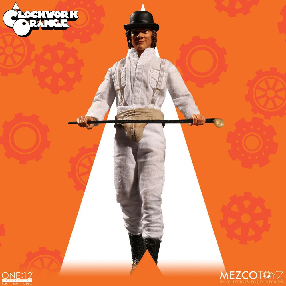 "Arancia Meccanica A CLOCKWORK ORANGE Alex 1//6 Action Figure 12/"" Mezco"