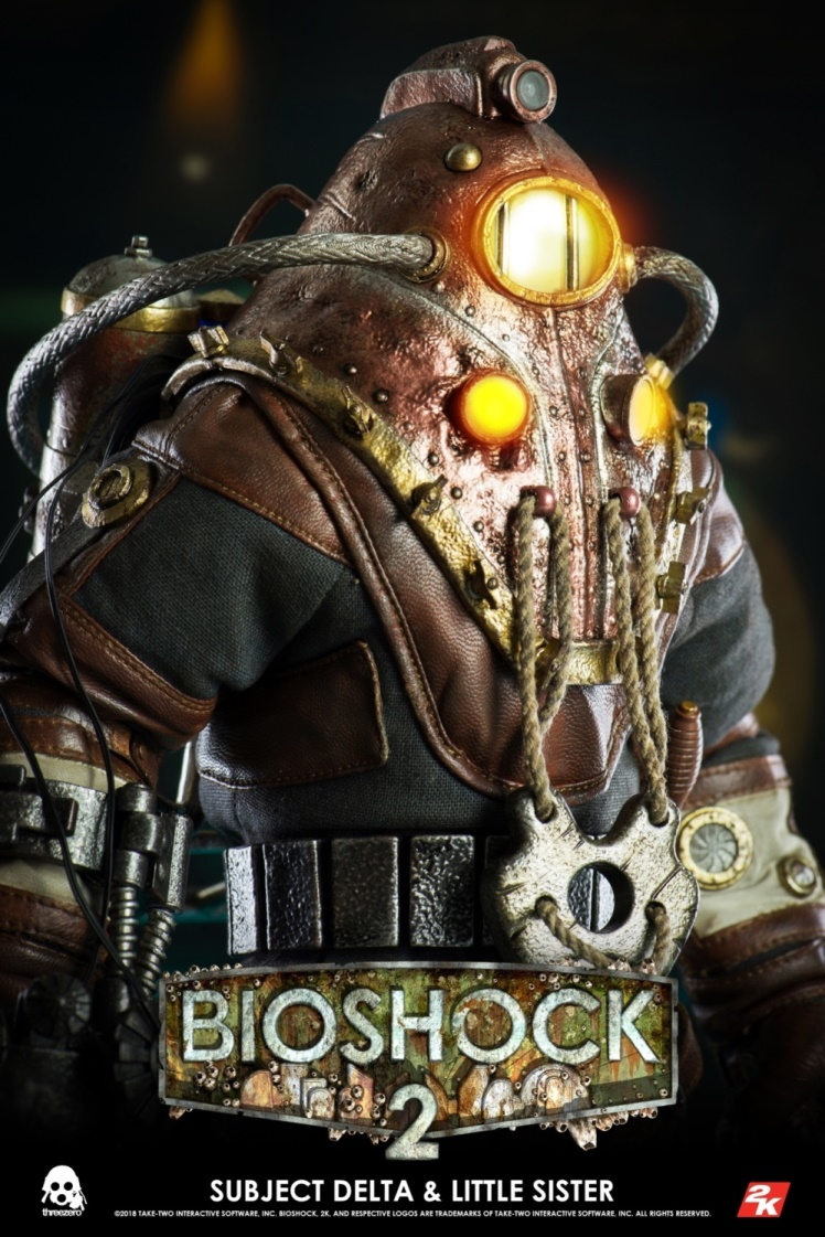 BIOSHOCK 2: SUBJECT DELTA & LITTLE SISTER DELUXE VERSION 1/6