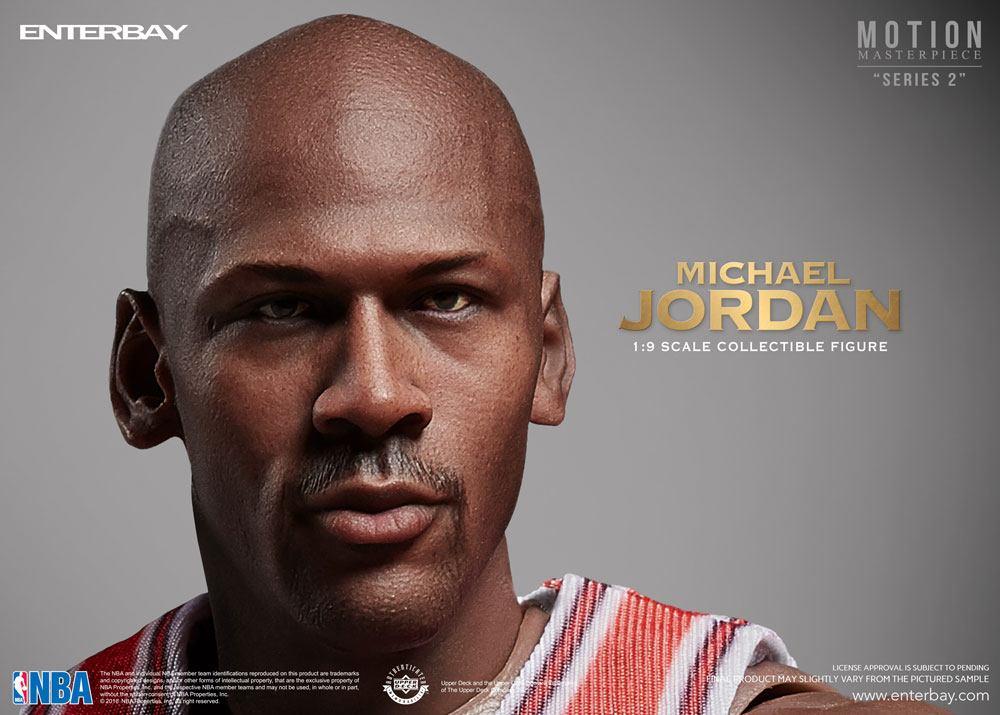 57190f14904 NBA COLLECTION  MICHAEL JORDAN MOTION MASTERPIECE 1 9 Action Figure ...