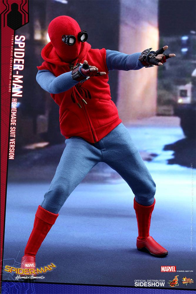 Spider Man Homecoming Homemade Suit Version 1 6 Action Figure 12