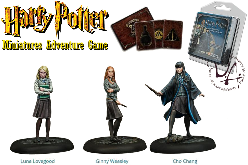 HARRY POTTER: MINIATURES ADVENTURE GAME - Dumbledore Army Espansione