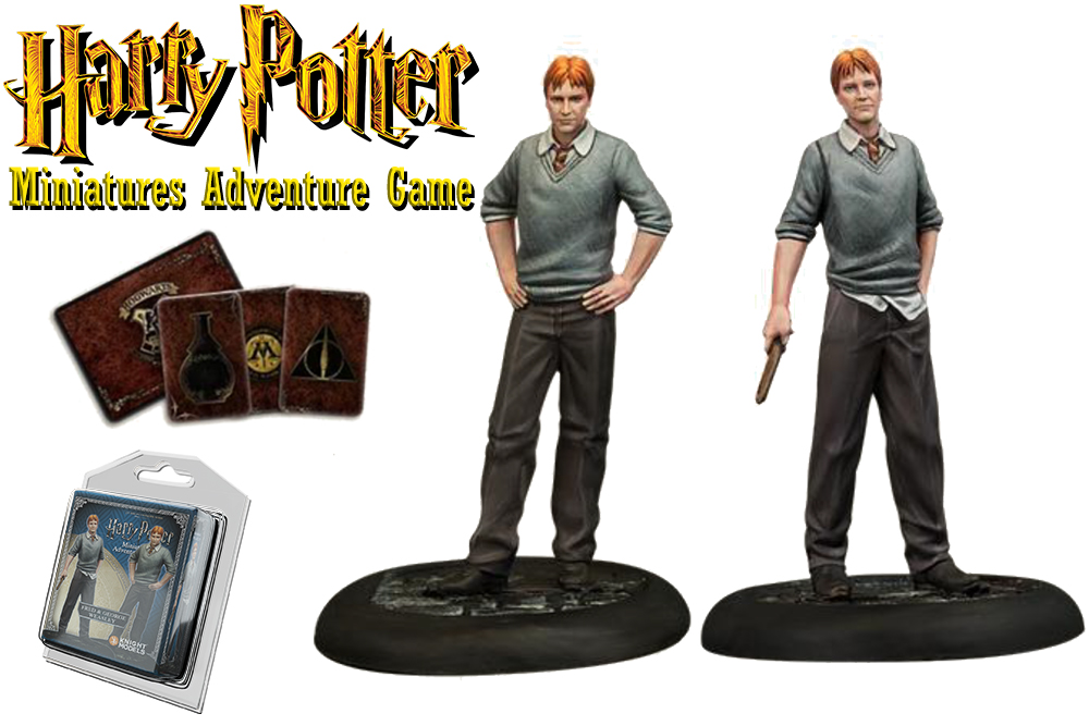 HARRY POTTER: MINIATURES ADVENTURE GAME - George & Fred Weasley Espansione