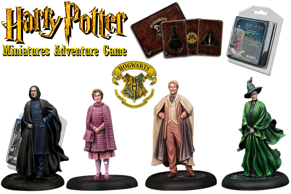HARRY POTTER: MINIATURES ADVENTURE GAME - Hogwarts Professors Espansione