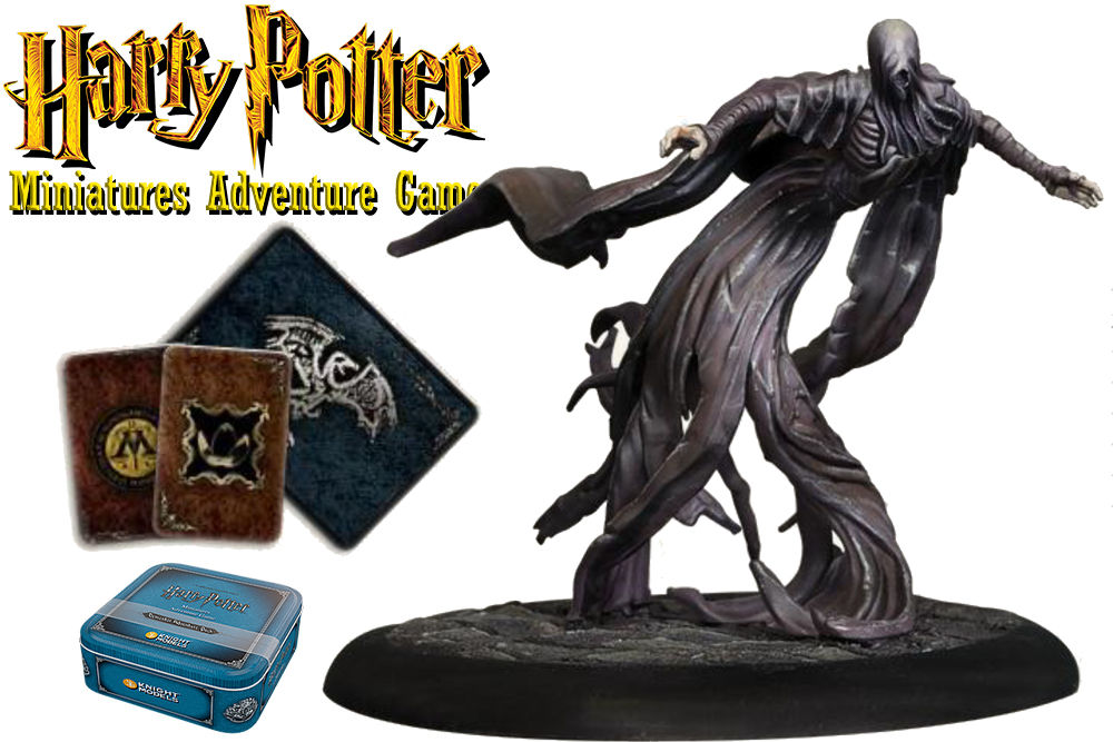 HARRY POTTER: MINIATURES ADVENTURE GAME - Dementor ADVENTURE Pack Espansione