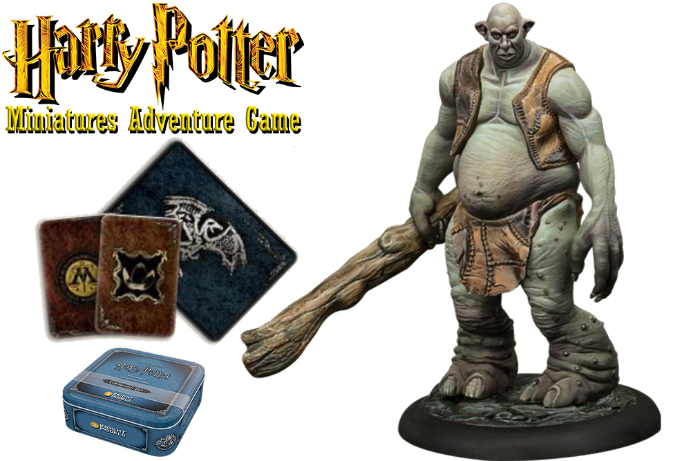 HARRY POTTER: MINIATURES ADVENTURE GAME - Troll ADVENTURE Pack Espansione