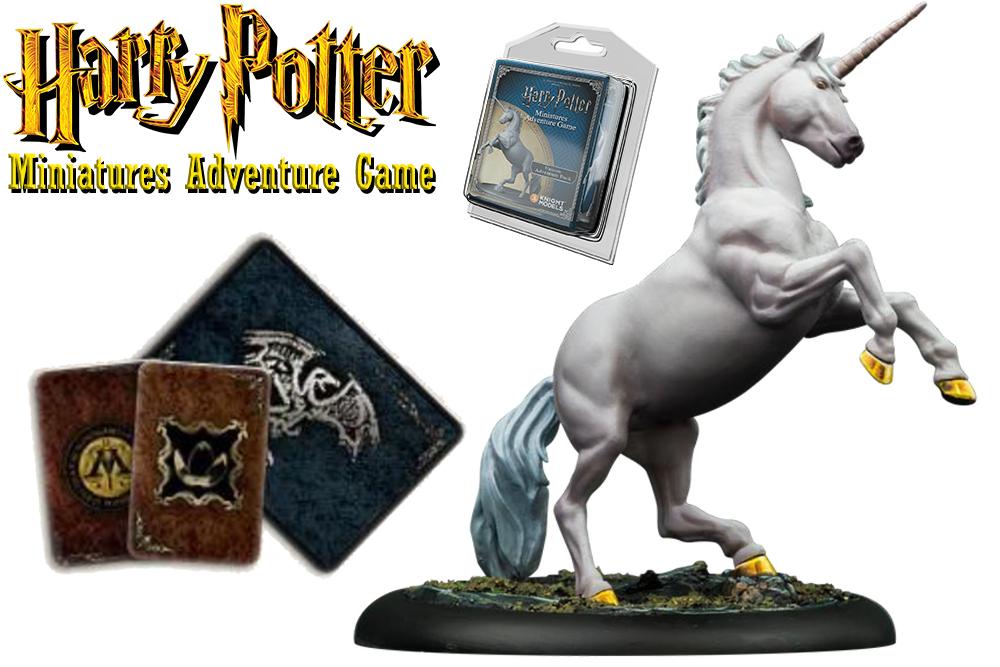 HARRY POTTER: MINIATURES ADVENTURE GAME - Unicorn ADVENTURE Pack Espansione
