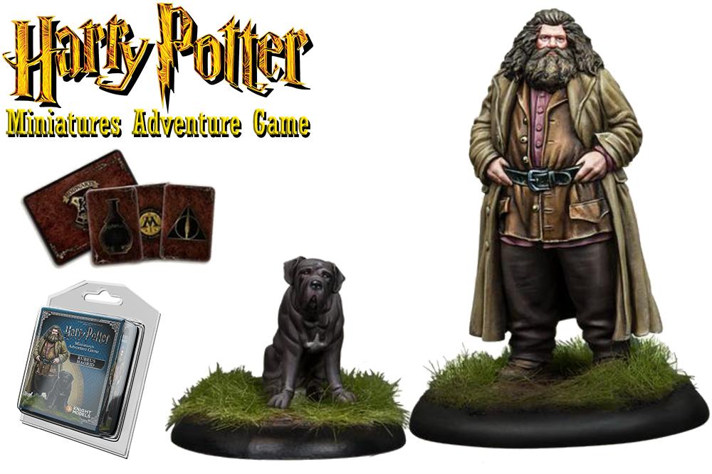 HARRY POTTER: MINIATURES ADVENTURE GAME - Rubeus Hagrid & Tusk Espansione
