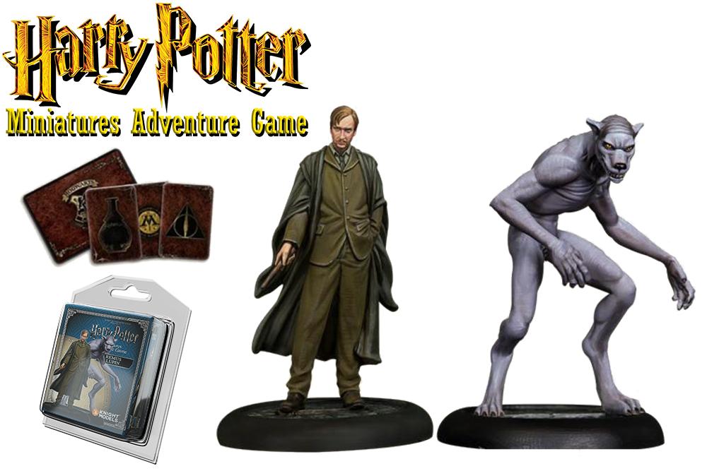 HARRY POTTER: MINIATURES ADVENTURE GAME - Remus Lupin & Werewolf Form Espansione