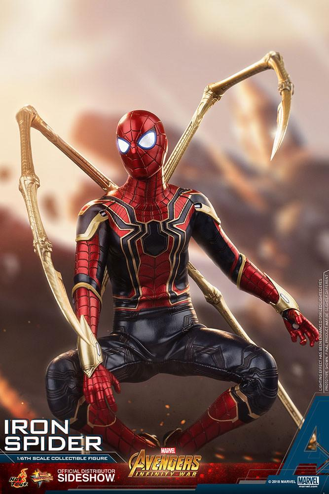 Toys & Hobbies Marvel Avengers Infinity War Spiderman Iron Spider Pvc Action Figure Collectible Model Toy