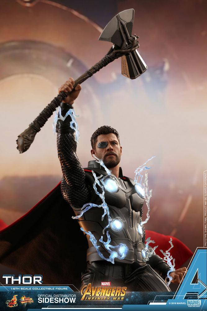 Marvel Avengers Infinity War Thor 1 6 Action Figure 12 Hot Toys