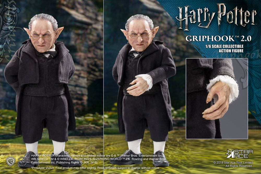 "HARRY POTTER: GRIPHOOK 2.0 VERSION 1/6 Action Figure 12"" STAR ACE TOYS"