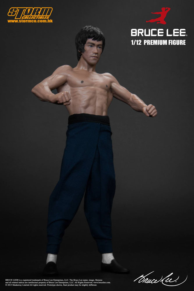 the MARTIAL ARTIST SERIES n° 01: BRUCE LEE 1/12 STATUE STORM COLLECTIBLE
