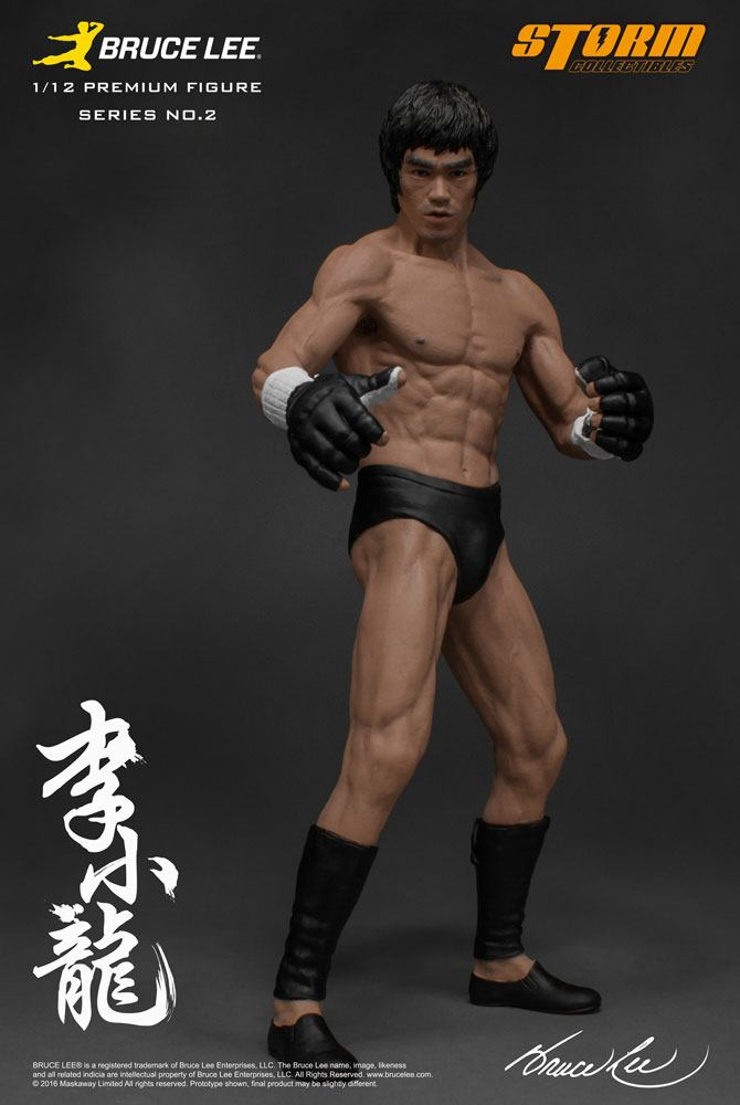the MARTIAL ARTIST SERIES n° 02: BRUCE LEE ( ICONIC MMA OUTFIT ) 1/12 STATUE STORM COLLECTIBLES