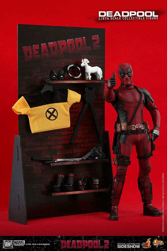MARVEL: DEADPOOL 2 – DEADPOOL (Wade Wilson) 1/6 Action Figure 12″ HOT TOYS