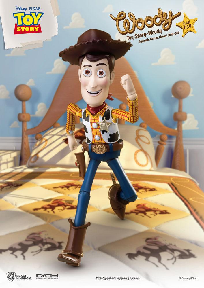 DISNEY: TOY STORY – WOODY DYNAMIC 8CTION HEROES 8″ Action