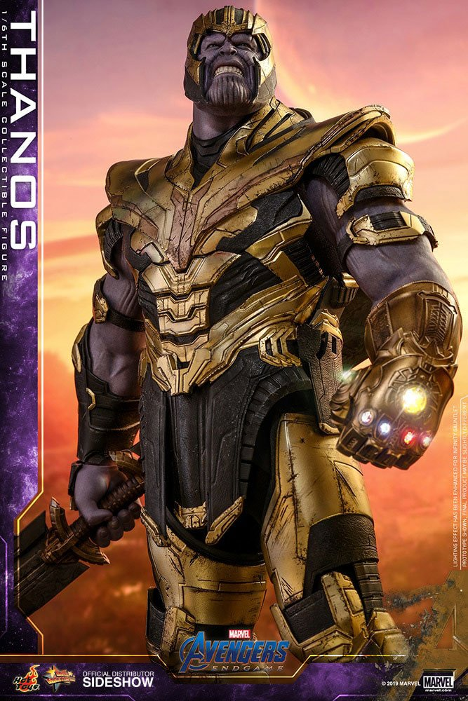 MARVEL: AVENGERS ENDGAME – THANOS with ARMOR 1/6 Action Figure 12″ HOT TOYS