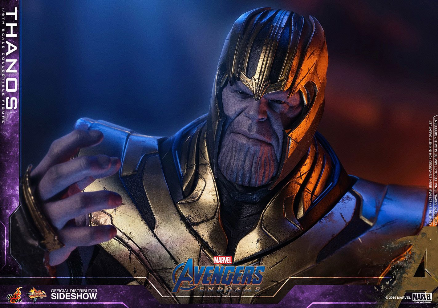 MARVEL: AVENGERS ENDGAME – THANOS with ARMOR 1/6 Action