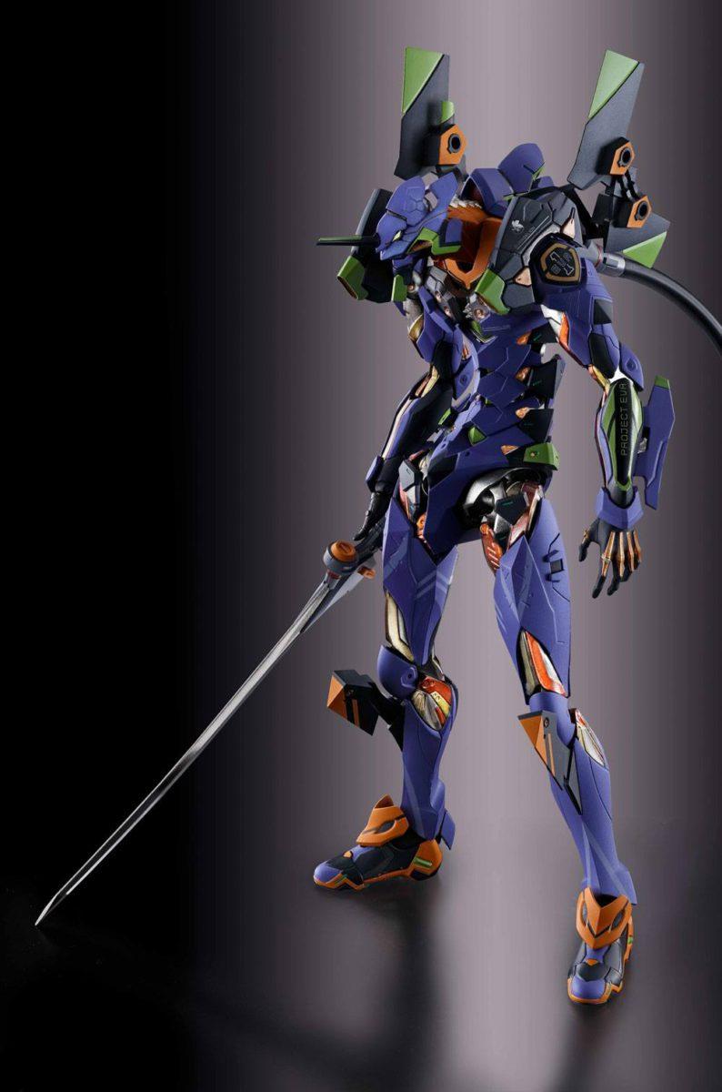 NEON GENESIS EVANGELION: EVA-01 TEST METAL BUILD 22cm Action Figure BANDAI