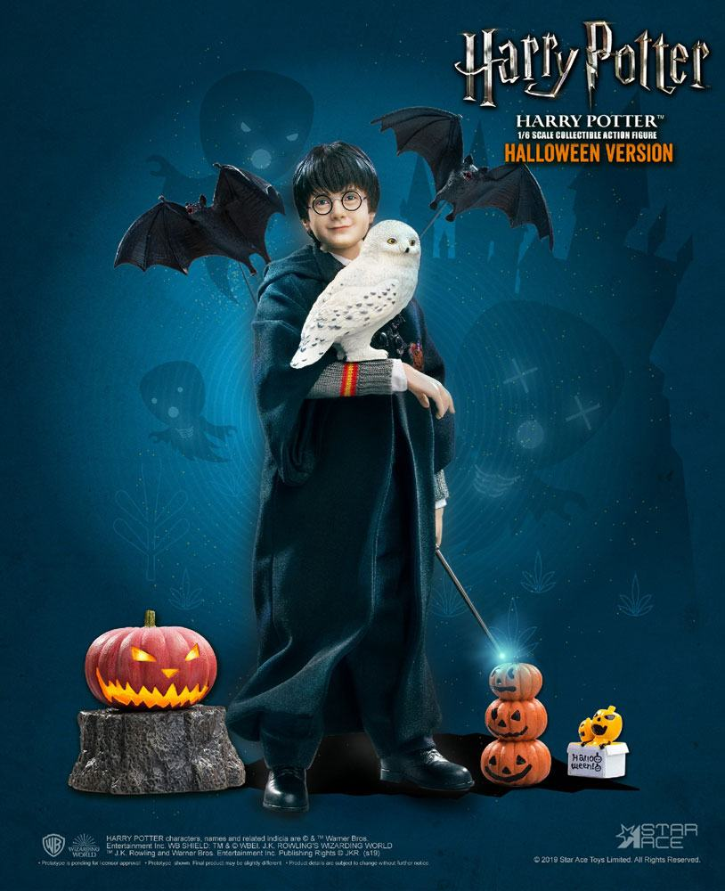"HARRY POTTER: HARRY POTTER (Child) HALLOWEEN LIMITED EDITION 1/6 Action Figure 12"" STAR ACE TOYS"