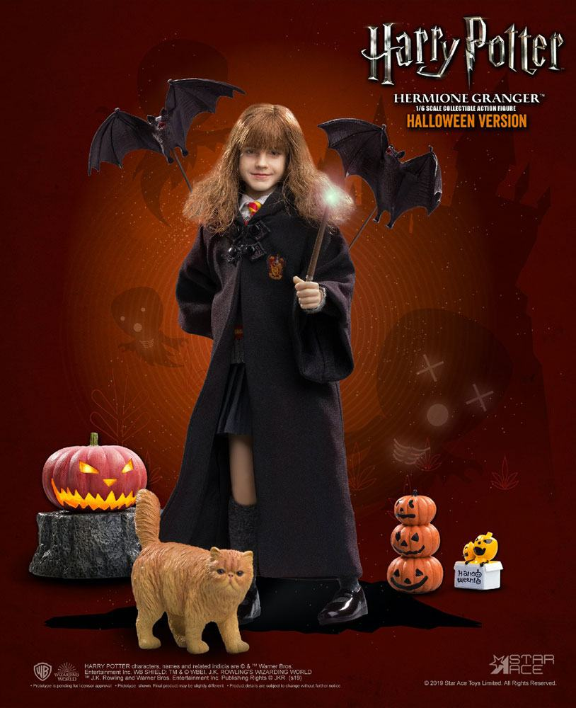 "HARRY POTTER: HERMIONE GRANGER (Child) HALLOWEEN LIMITED EDITION 1/6 Action Figure 12"" STAR ACE TOYS"