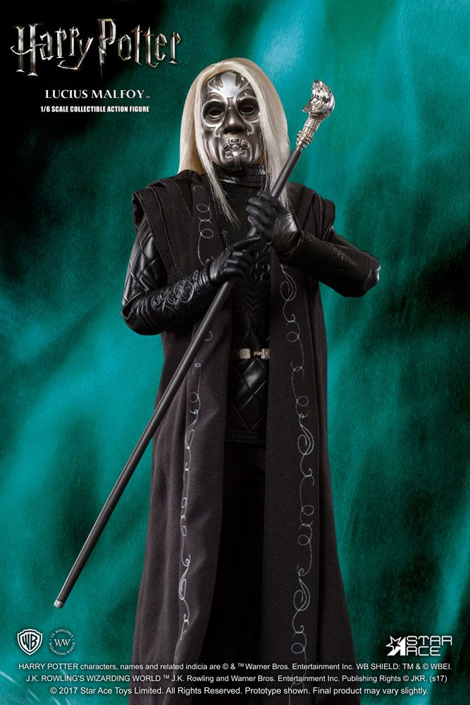 "HARRY POTTER: LUCIUS MALFOY 1/6 Action Figure 12"" STAR ACE TOYS"