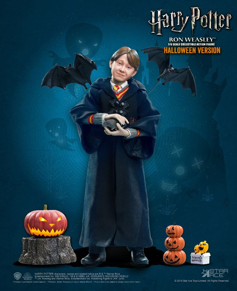 "HARRY POTTER: RON WEASLEY (Child) HALLOWEEN LIMITED EDITION 1/6 Action Figure 12"" STAR ACE TOYS"