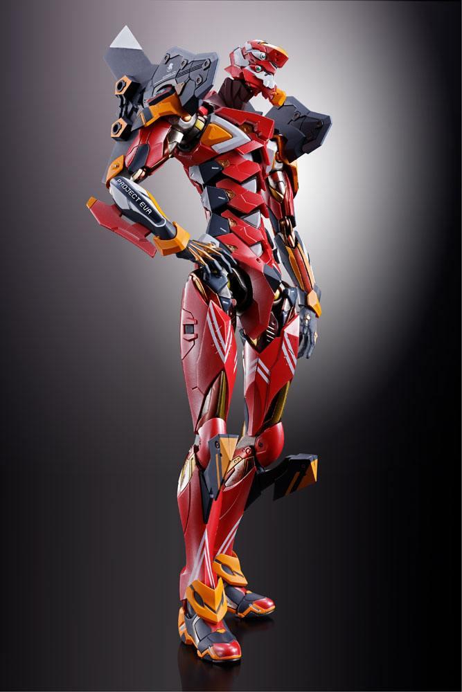 NEON GENESIS EVANGELION: EVA-02 PRODUCTION MODEL METAL BUILD 22cm Action Figure BANDAI